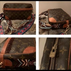 Louis Vuitton boho crossbody